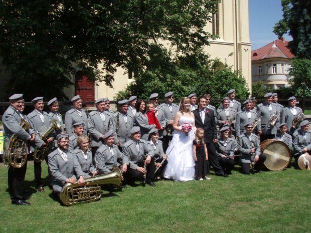Svatba hornistky Marušky
