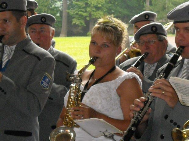 Svatba saxofonistky Karolíny