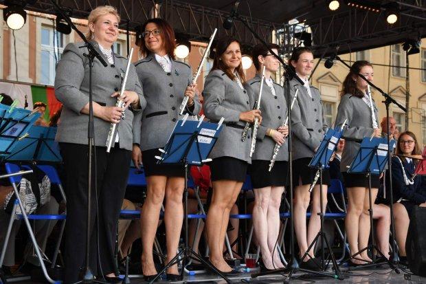 Kmochův Kolín - koncert spojených orchestrů