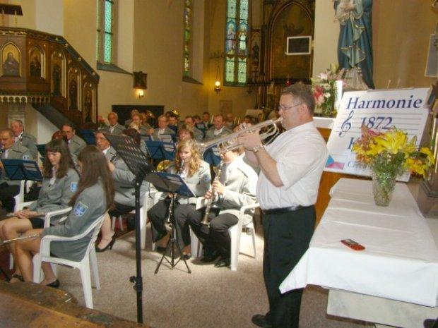 Koncert v kostele sv. Jakuba Přelouč
