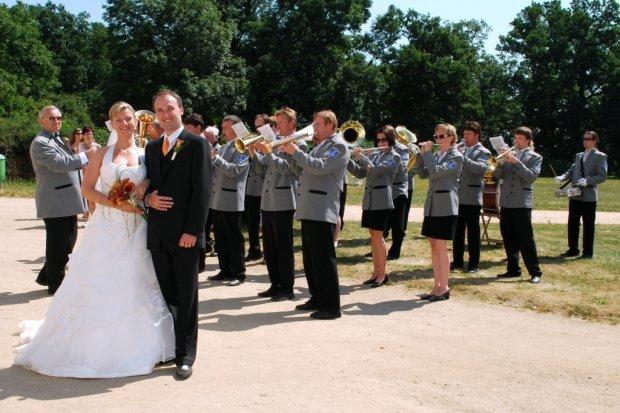 Svatba zpěváka Radka