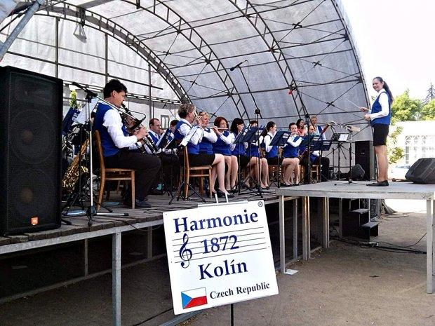 Koncert na Kolonádě Poděbrady