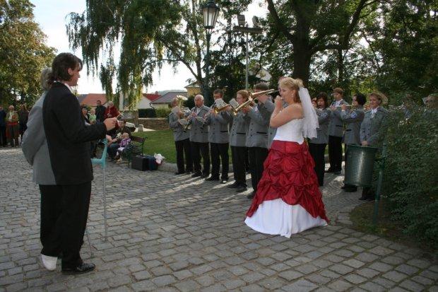 Svatba flétnistky Lady