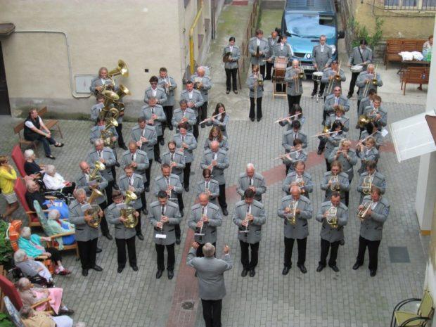 Koncert pro Domov důchodců Kolín