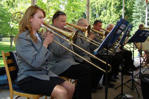 Koncert před Kolonádou Poděbrady