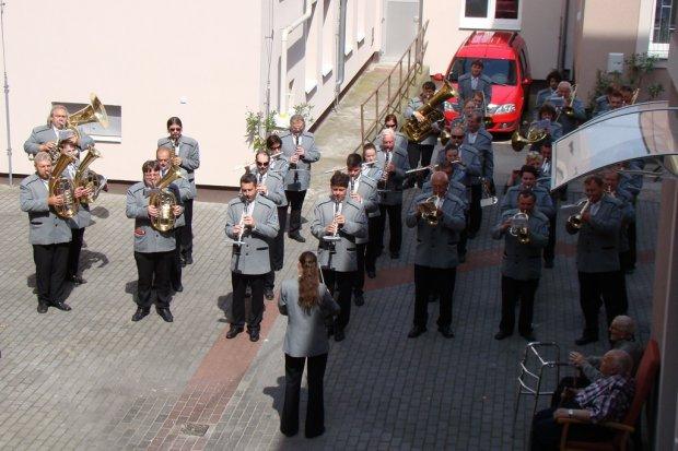 Koncert v Domově důchodců Kolín