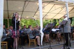 Koncert před Kolonádou Poděbrady 2015