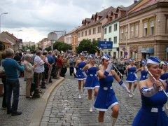 Festival Kmochův Kolín 2014 - průvod městem