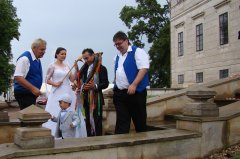 Svatba zpěvačky Heleny